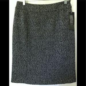LAFAYETTE 148  Petite Women's 6  Black Skirt